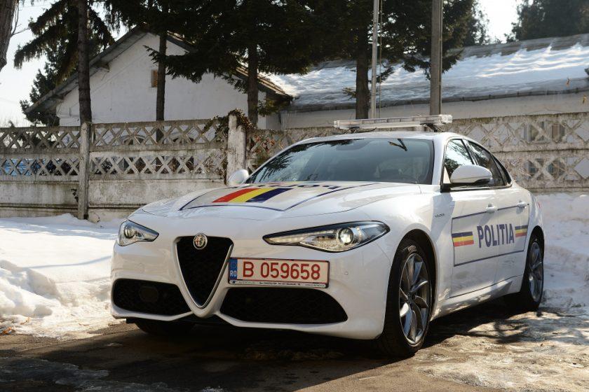 Pantera albă la Poliția Română – Alfa Romeo Giulia